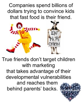 Fast Food Wants to Friend Kids