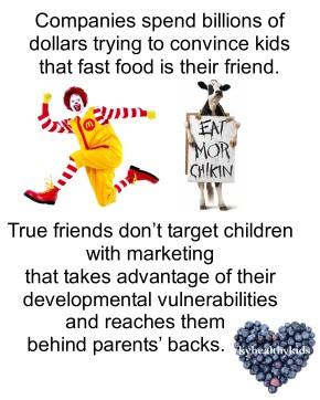 Fast Food Wants to FriendKids