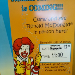 McDonald's Uses Library to Market to Kids