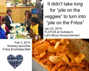 Subway Goes From FLOTUS toFritos