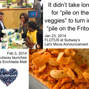 Subway Goes From FLOTUS to Fritos
